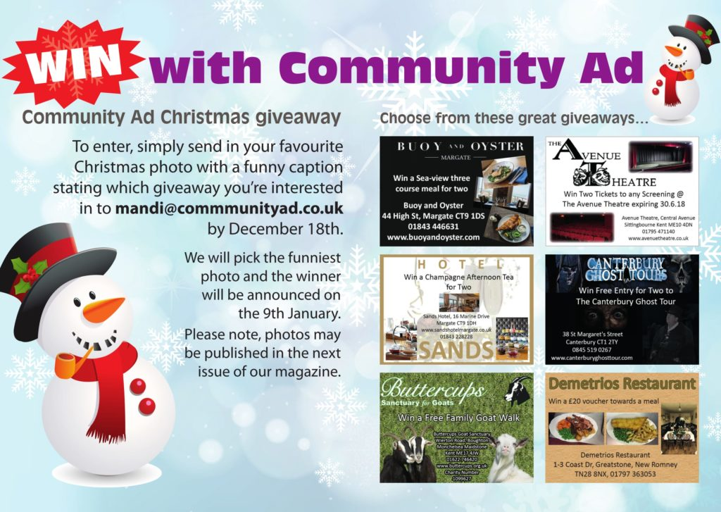 Community Ad Christmas Giveaway