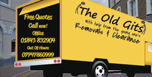 The Old Gits Removals logo