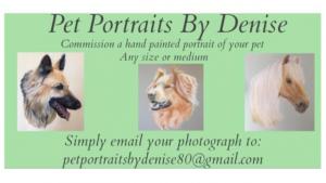 Pet Portraits by Denise
