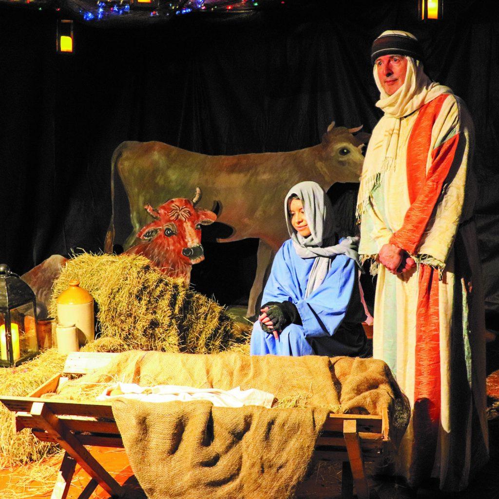 Nativity on Tour - Mary and Joseph