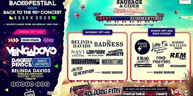 Essex Sausage & Cider Music Festival 2021