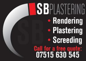 SB Plastering magazine advert