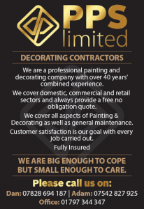 PPS Limited advert
