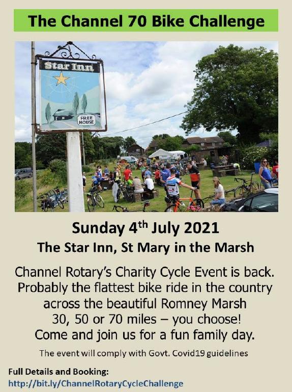 Channel 70 Bike Challenge poster