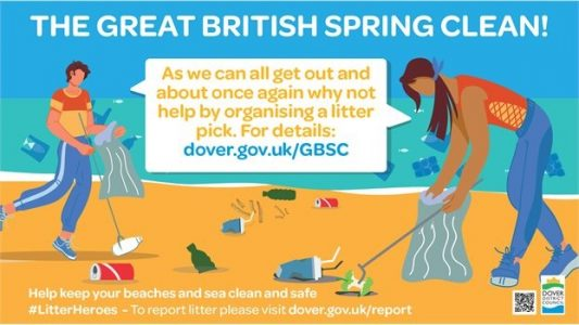 Great British Spring Clean Dover