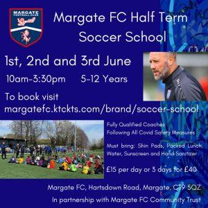 MFC Scocer School poster