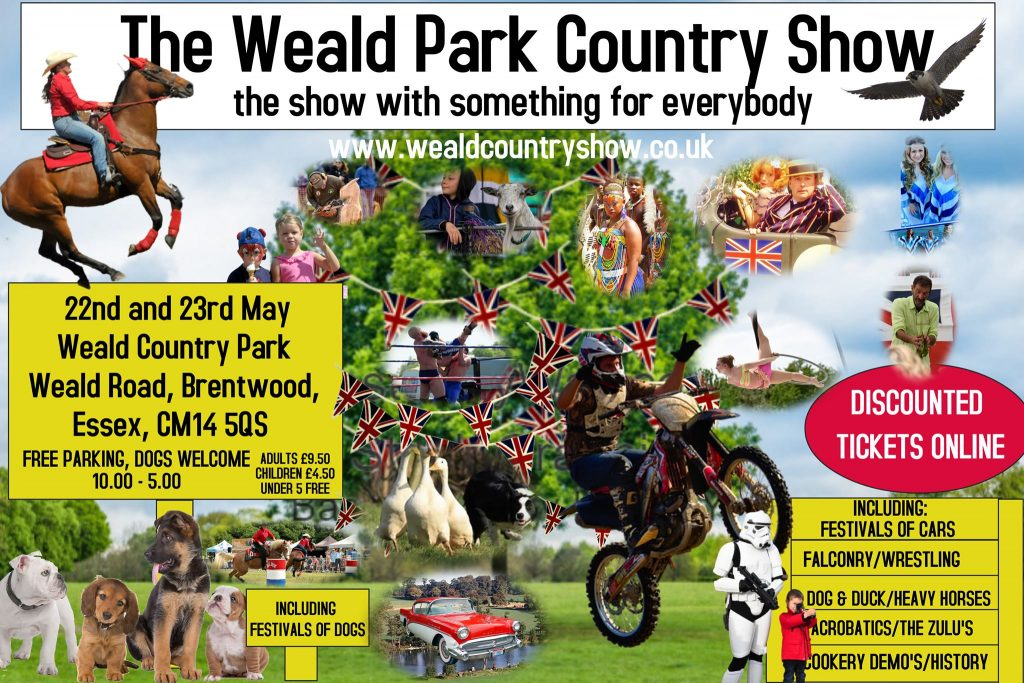 The Weald Park Country Show poster