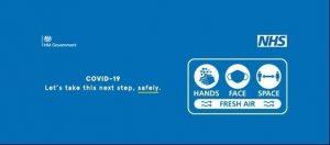 stay safe nhs gov poster