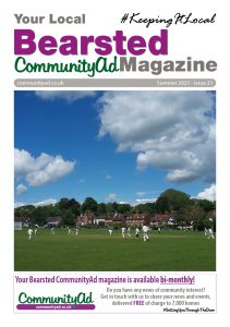 Bearsted21 Front Cover