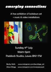 Emerging Connections exhibition poster