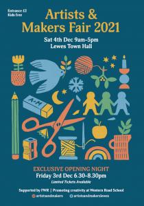 Artists & Makers Fair Poster